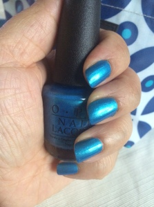 This weeks fave color: Teal The Cows Come Home by OPI
